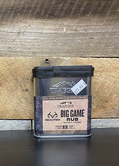 Real Tree Big Game Rub