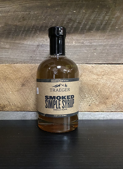 Smoked Simple Syrup 375 mL
