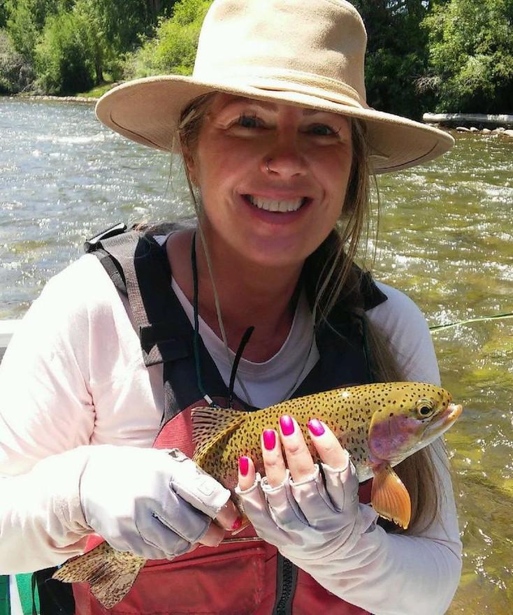 Gunnison Rainbow on the Fly