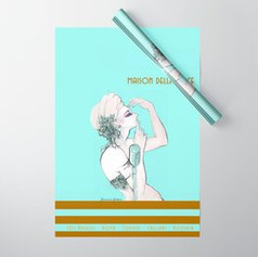 maison-della-voce-turquoise-wrapping-pap