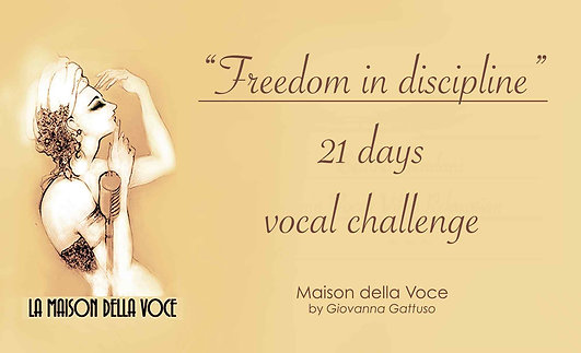 Gift Certificate 21 DAYS VOCAL CHALLENGE