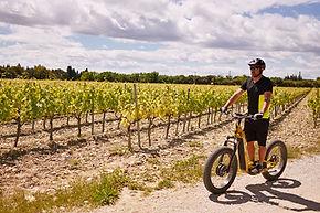 Balade trottinette tout terrain Avignon Trott Emotion