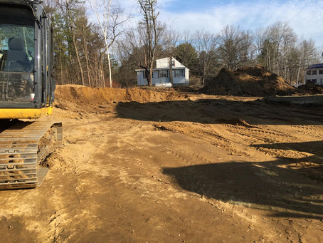 Stump removal and Excavation project in Concord, NH