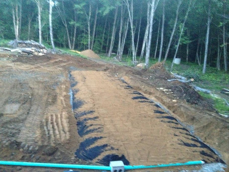 New Septic Installation in Northwood, NH