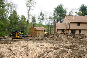 Yard Expansion, Site grading