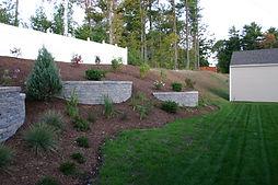 Retaining walls, walkways, patios