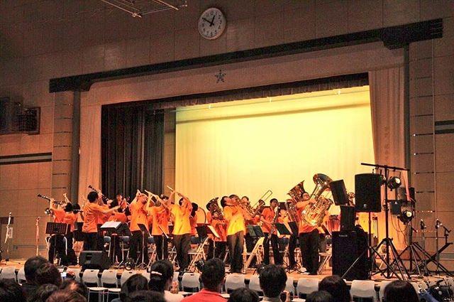 学園祭無事に終わりました!__たくさんの方にご来場いただきました!_ありがとうございました!! #鎌学音楽部
