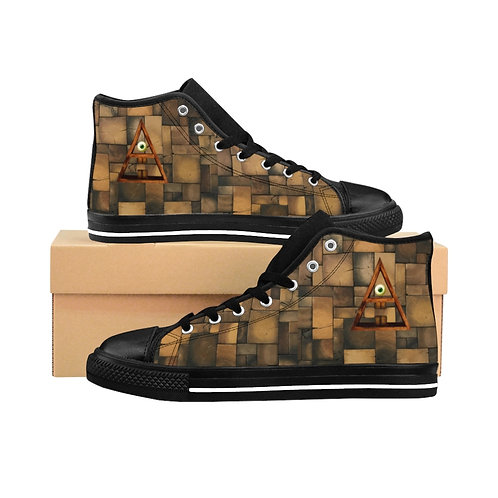 Men's Subliminal Propaganda Primitive A.I  High-top Sneakers