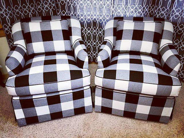 Twins! Buffalo check pushed my ocd to its limits! #buffalocheck #repinneddesign #repinned #design #d