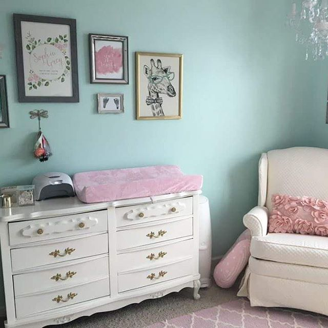 Custom nursery dresser & recliner by repinned!_#reupholstery #decor #design #refinishing #interiorde