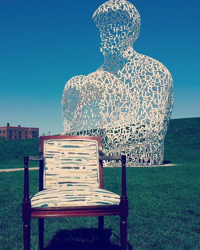 Chairs are my favorite functional art. They have to look good from every angle