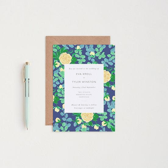 Rose Garden Invitations