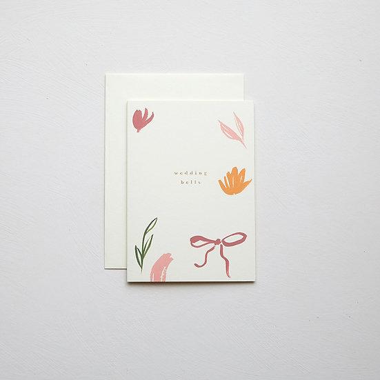 'Wedding bells', abstract card