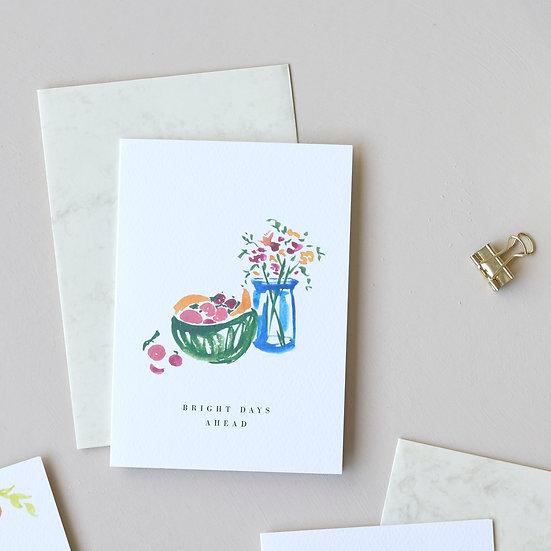 Bright Days Ahead, card