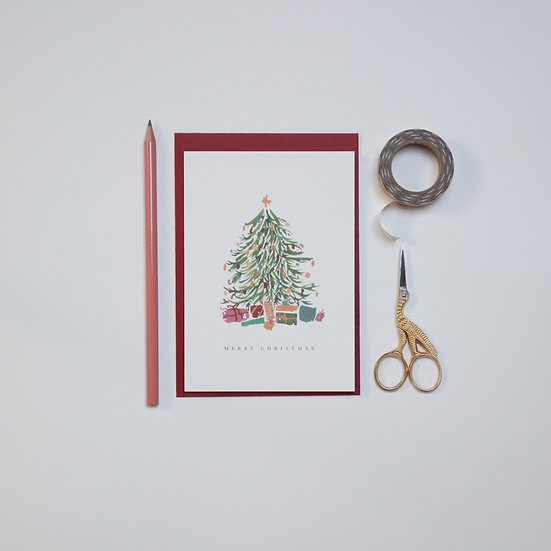 Christmas Tree, card