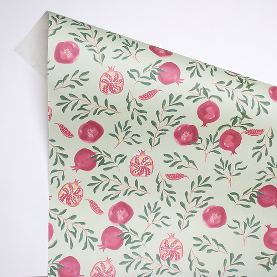 Pomegranates wrap