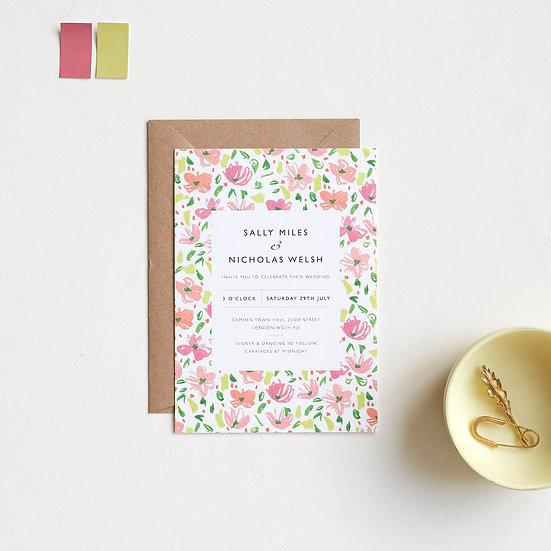 Daisy Wedding Invites