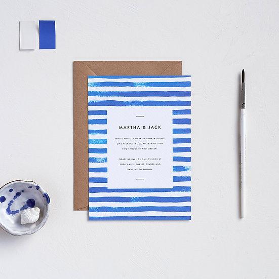 Breton Stripe Invitations
