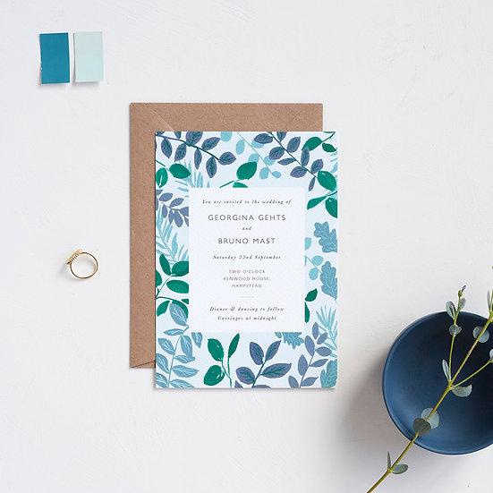 Foliage Invitations