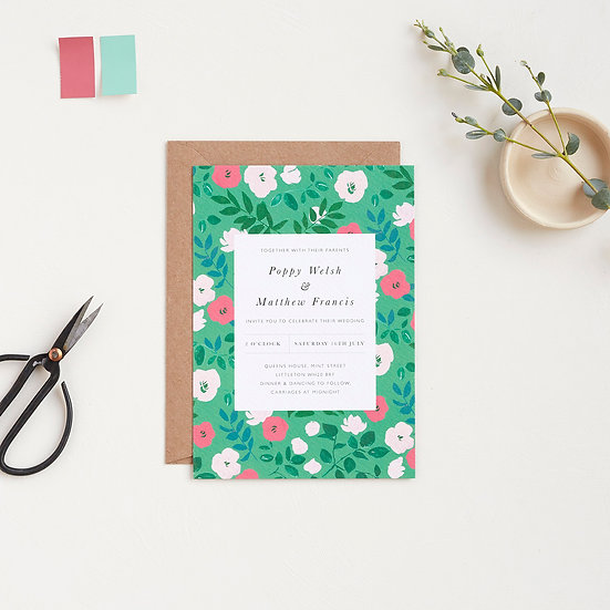 Flora Invitations