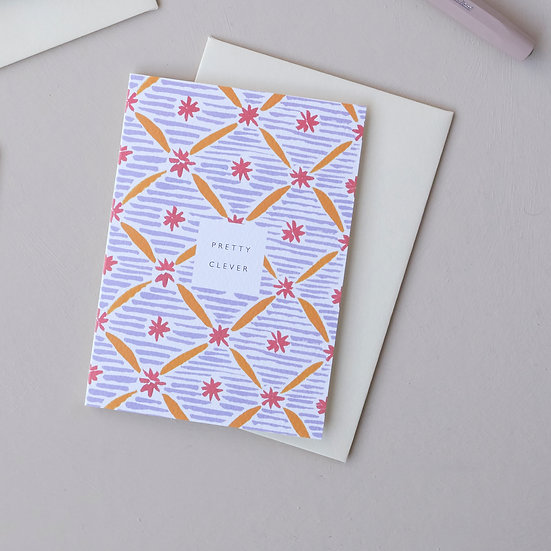 Pretty Clever, pattern card
