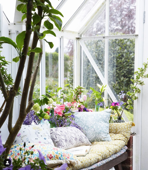 COUNTRY LIVING MAGAZINE, imagery styled by Selina Lake  ft. Sophie's cushions.