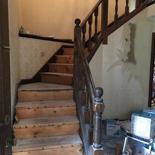 Stairs progress