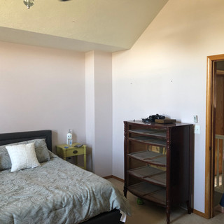 Bedroom on a budget, before