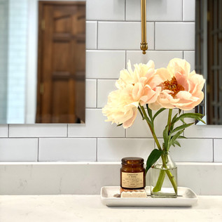 Master bath vanity detail