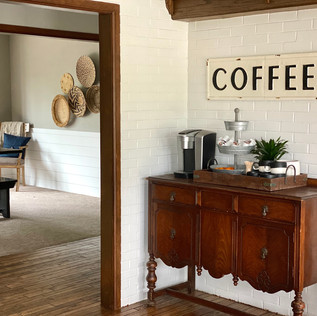 Coffee and dining