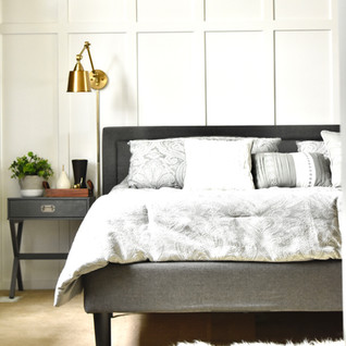 Bedroom on a budget bed