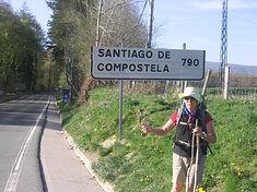 Margaret Headlam (W11) on the camino de