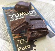 Yumbos chocolate 70% dark