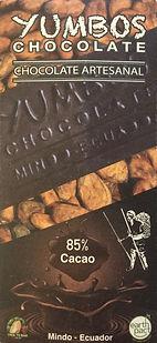 Yumbos chocolate 85% dark