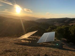 Ground Mount Solar Installation