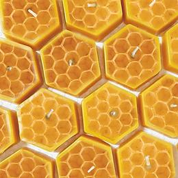 100% Beeswax Tealights