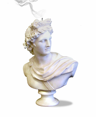 Apollo's Bust Scented Candle
