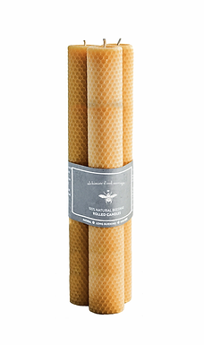 Beeswax Tapered Dinner Candles