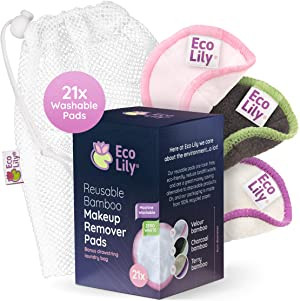 Eco Lily Reusable Makeup Remover Pads