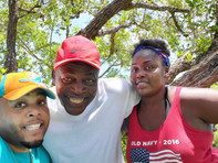 47. Son Walter and Grandkids Terrell and