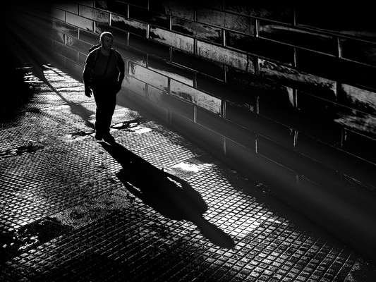 Walking From The Light by Peter Stickler SCORE:20!