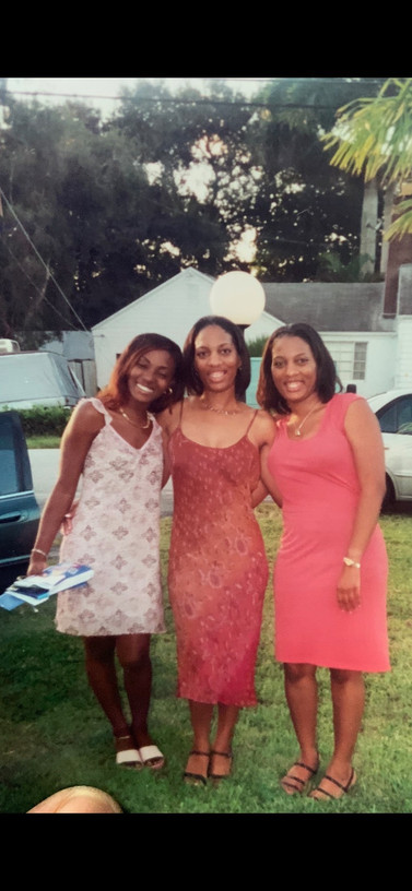 My granddaughters Tyesha, Sheryl, and Te