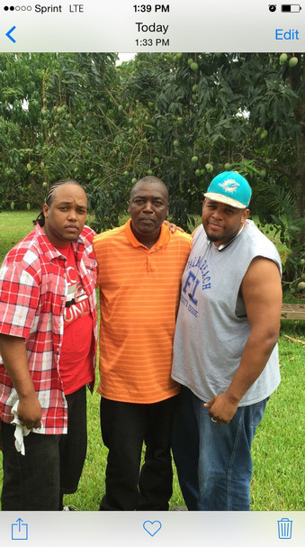 30. Son Walter and Grandsons BJ and Terr