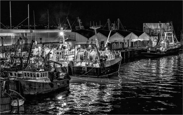 Night Wharf by Gordon Cook SCORE:19!