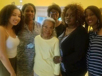 44. Five Generations with Mom Fannie Mae