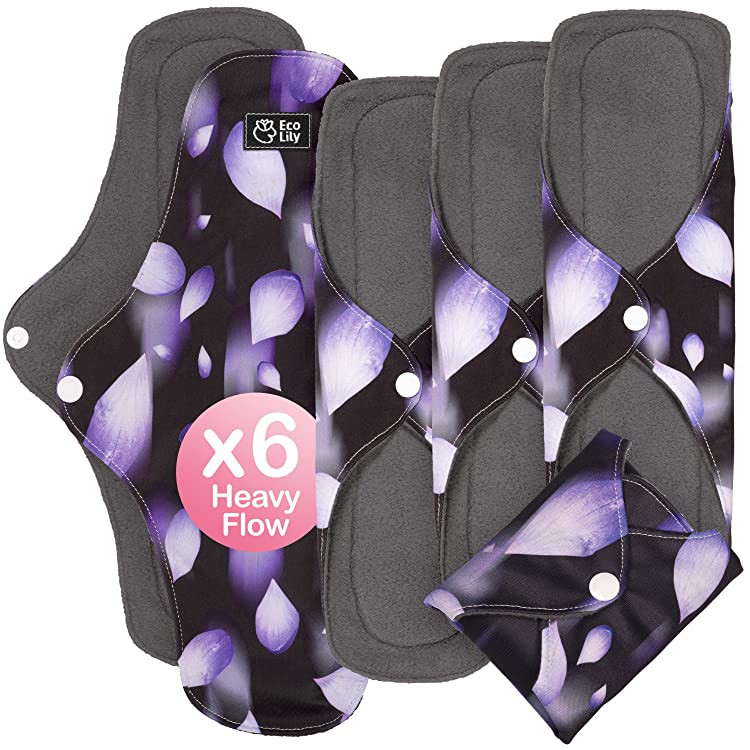 Eco Lily Heavy Flow Reusable Sanitary Pads
