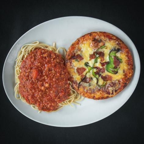 Combo Pizza  Spaghetti