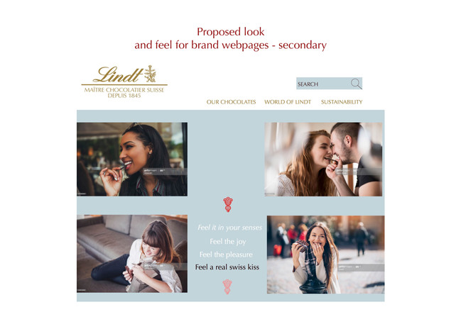Lindt rebrand - Love the brand you hate1