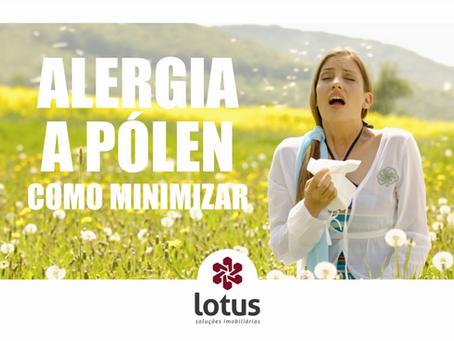 Alergia a pólen – como minimizar