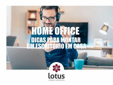 Home Office – Dicas para montar um escritório em casa